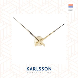 Karlsson Wall clock 90cm Little Big Time Gold