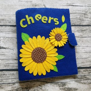 Handmade Quiet Book【3 pages】[C02]  Sun Flowers