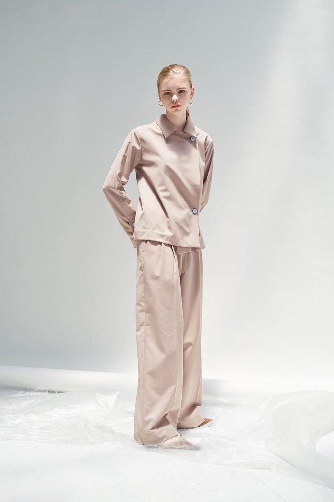 2019 A/W /簡約/羊毛/混紡//落地/寬褲