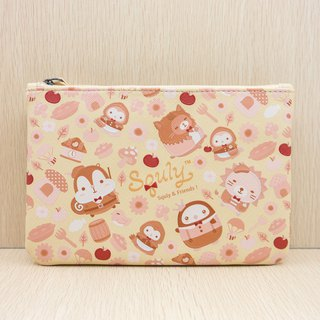 PU Leather Zip Pouch (Little Red Riding Hood)