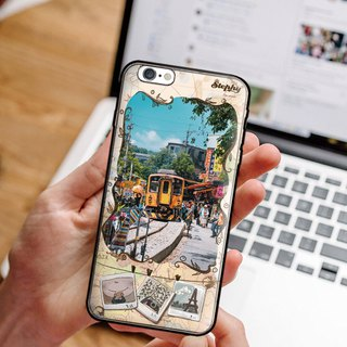 Mobile phone case customization for my travel log---Location 1
