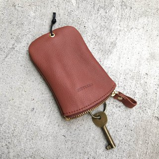 [Keys' Sweet Home / Key Case] ​​ZiBAG-031/Powder Brown