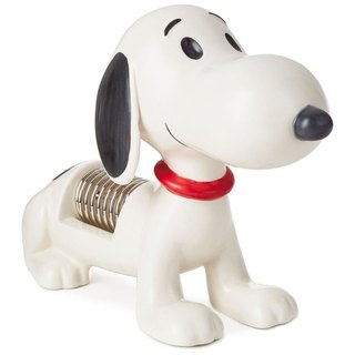 Snoopy napkin holder [Hallmark-Peanuts Snoopy Stationery]
