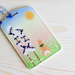 Chai will carry luggage tag dual-use card sets - spring articles