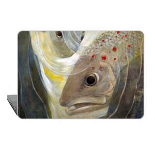 Macbook case MacBook Air MacBook Pro Retina MacBook Pro hard case fish art 1834