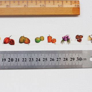 Colorful South American Fruit Washi Tape
