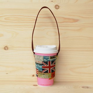 National flag cowboy beverage bag/cup set