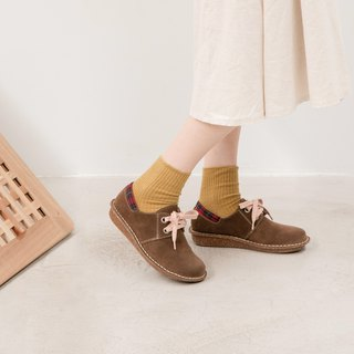 Japanese sweet suede big shoes _ American coffee