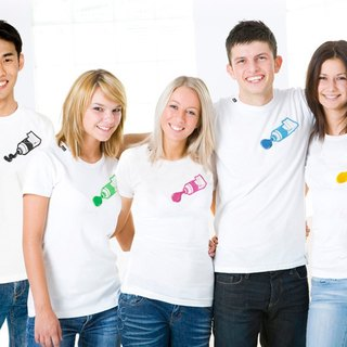 paint T-shirt (choose from 5 colors)