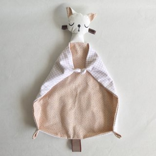 Homycat kitty baby blanket