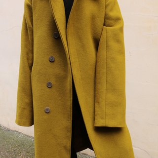 Seoul Coat Oversize Neutral Windbreaker Wool Coat (Other colors available)