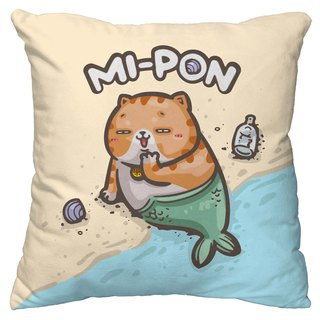 One god cat rice incense series pillow [mermaid rice incense]
