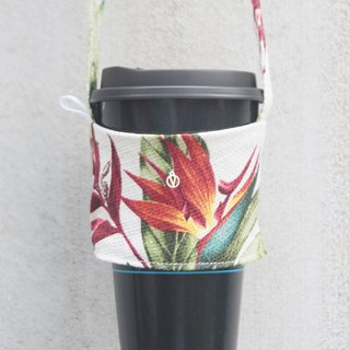 Daylight bird of paradise environmental protection bag cups thick hand-made exclusive your English tag