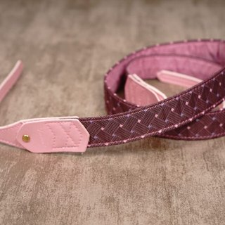Woven Purple Skin Pressure Camera Strap 2.5