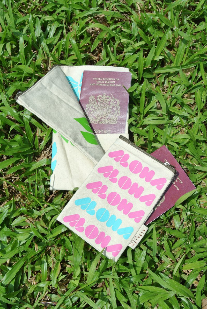 Aloha Travel Passport Holder