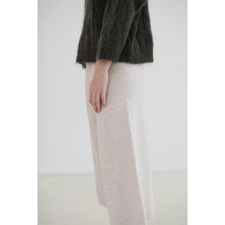 KOOW swallowtail butterfly drooping wool wide-leg pants worsted Merino wool knit pants