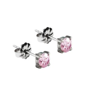 Pure - sweetheart pure titanium ear acupuncture pair