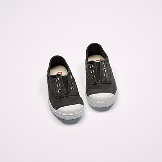 Spanish national canvas shoes CIENTA children's shoes size dark gray scented shoes 70997 74