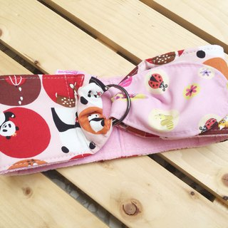 Japanese style panda cold scarf XL