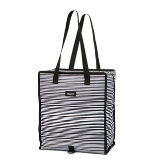 United States [PACKiT] ice cool shopping refrigerated bag (classic black and white) ice bag / insulated bag