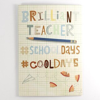 Good teacher has you very good [Hallmark - Card Teacher's Day]