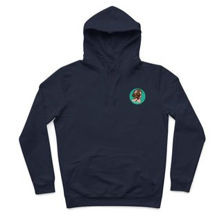Small paisiaaaaa - dark blue - Hooded T-shirt