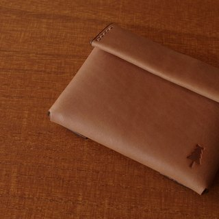 【受注生産】compact wallet  #brown