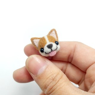 <Wool felt> Welsh Corgi (S Size) by WhizzzPace