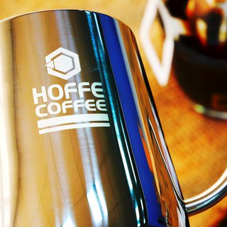 HOFFE stainless steel hanging ear hand pot 250ml coffee fine mouth pot