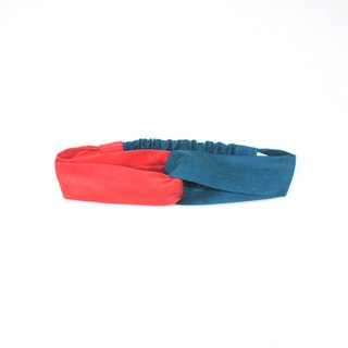 【The MAMA's Closet】Papillon (Red with Green) / Headband