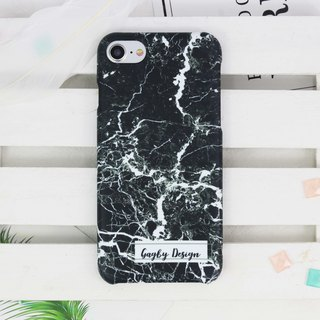 Personalised Name Marble printing  Matt finishes rigid hard Phone case iPhone X