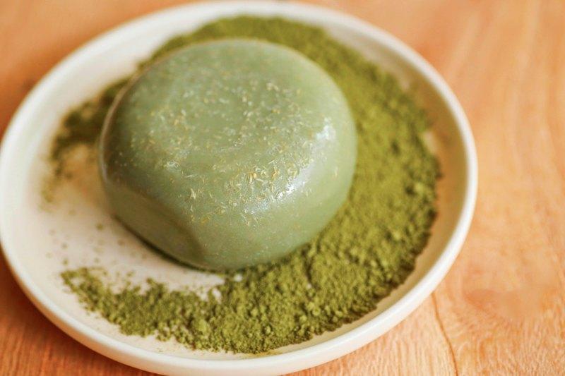 溫泉艾草皂 /平安皂/控油 舒壓/中/油/混合性皮膚