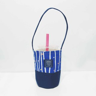 Drink bag - blue forest