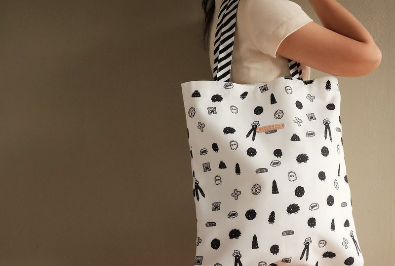 Tote bag : HELLO MONSTER
