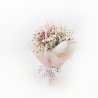 Snow White Classical Bouquet White Gypsophila Dry Flower Classic Flower Ceremony