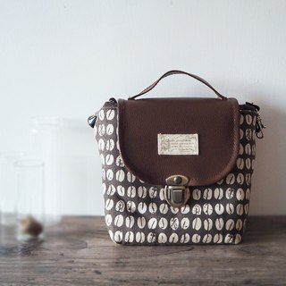 (Pallet bag) Single small single eye camera thick cotton camera bag (coffee beans) B04