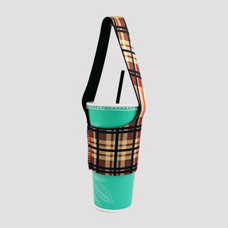 BLR green drink bag I go TU15 classic Plaid