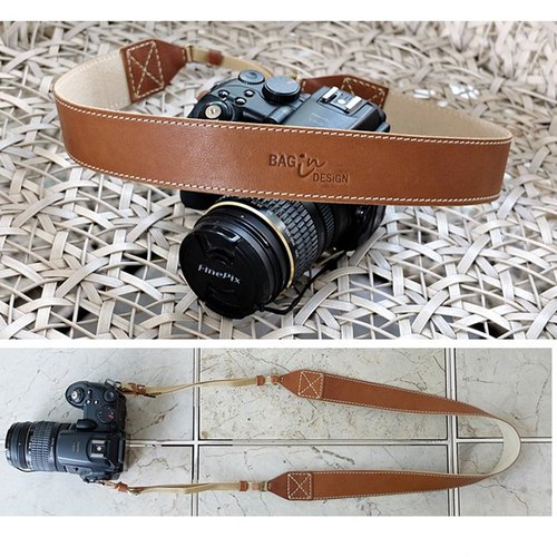 Leather Camera Strap Hand made  Classic Neck Strap