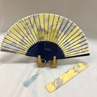Ballett original printed fan made in Japan (scarf not included)