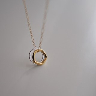 Necklace項鍊:  The Canterbury Necklace - N054 Pale Gold/N054 Rose Gold