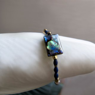 Abalone Bay Bluestone Bracelet (093) - Beautiful Map I