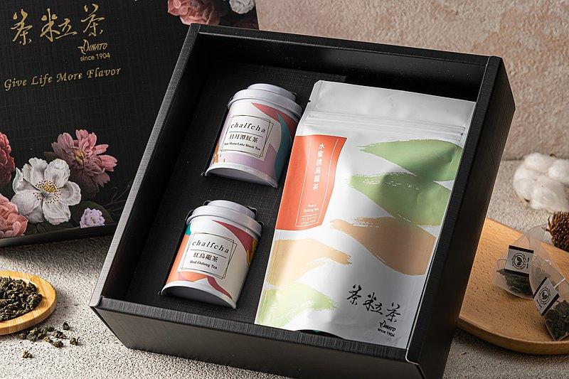 【茶粒茶】淺嚐雅致禮盒 (原片茶+三角茶包)