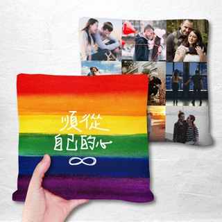 Rainbow Customized Pillow 9 photos