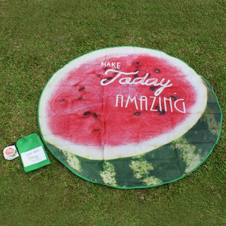 [DESTINO STYLE] Japanese artificial fruit picnic mat beach mat company cargo waterproof