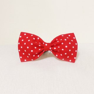 Ella Wang Design Bowtie pet cats and dogs bow tie red Shuiyu point