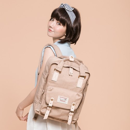 Doughnut water repellent Macaron Backpack - afternoon tea time