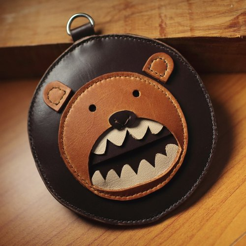 One+  lion money bag