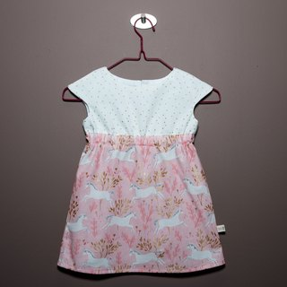 Sophia0805 Exclusive Order Fantasy Unicorn - Small Dress (12-18 Months)