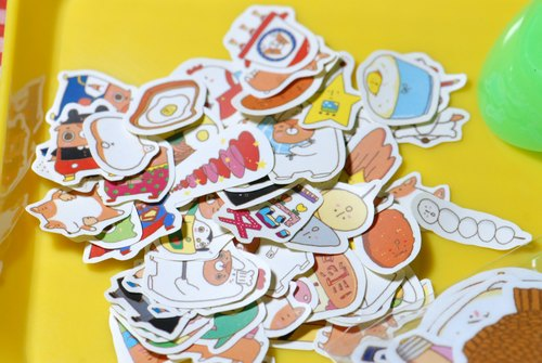 Sticker / mini sticker random 12 sheets