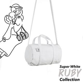 DUFFLE SIZE S - WHITE